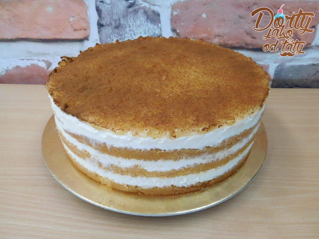 jablkoskoricový dortik