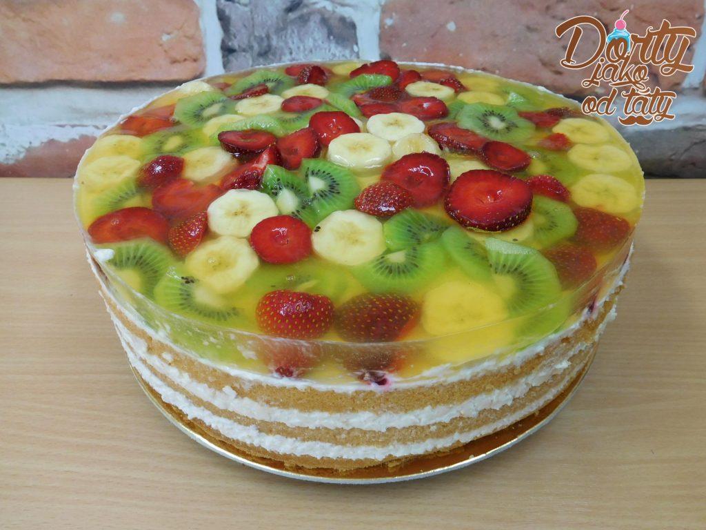 ovocny dortik s zele