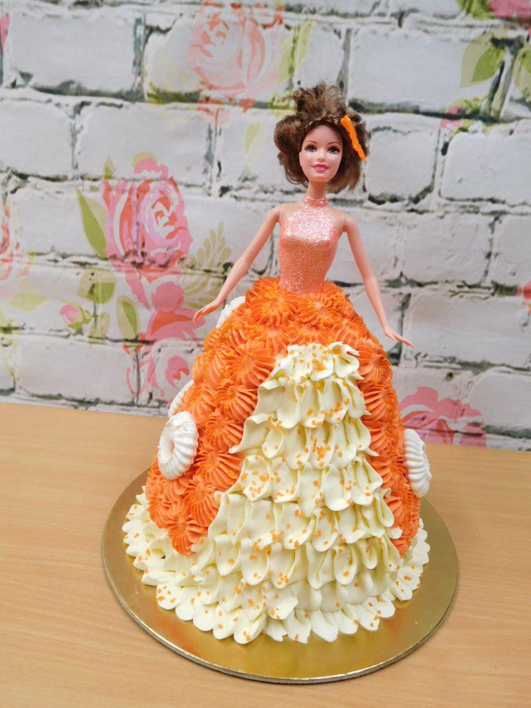 kremovy dort panenka