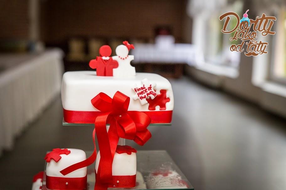 Svatební dorty - minidortíky