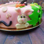 zvířátkový dort detail