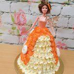krémový dort panenka