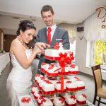 Svatební dort - minidortíky