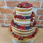 dvoupatrovy nahy dort