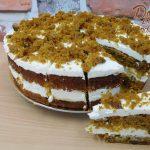 mrkvový dortík