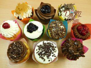 muffiny zdobené různé