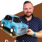 Rollup – Dortovy tata a 3D model auta
