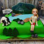 dort krajina s pani a pejskem