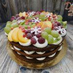 ovocny zimni dort jedle vlocky