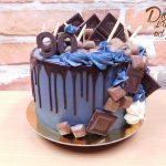dort cokoladovy stekany s cokoladou