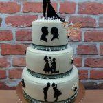 Svatební siluety