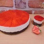 cheesecake a minicheesecake jahoda