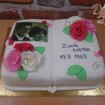 kniha dort zlata svatba