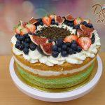 ovocny dort mix ovoce