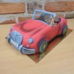 3D auto gabrio