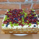 ovocny hranaty dort