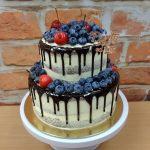 stekany patrovy dort ovocny