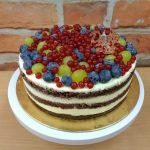 coko piskot ovocny dort