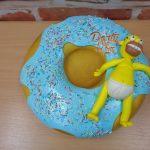 dort donut marcipanovy homer