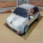 3D dort fiat 500
