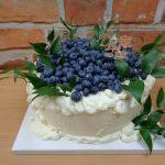 kremovy dort s boruvkami