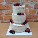 dort krajkovy s ovocem