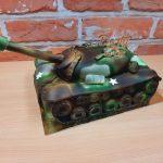 3D dort maskacovy tank