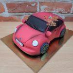 wv brouk 3D dort