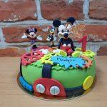 mickey club narozeninovy dort