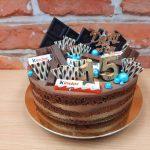 narozeninovy dort cokoladovy