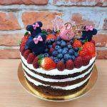 ovocny dort s minie