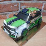 zavodni auto 3D dort