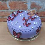 motylkovy dort jedly papir